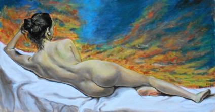 Olio su tavola 27x50cm 2013